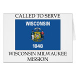 Wisconsin Milwaukee LDS Mission Called to Serve Card