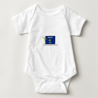 WISCONSIN MILWAUKEE MISSION LDS CTR BABY BODYSUIT