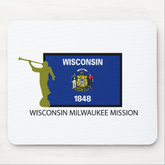 WISCONSIN MILWAUKEE MISSION LDS CTR MOUSE PAD