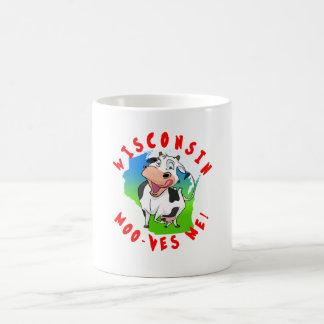 Wisconsin Moo-ves Me! mug