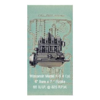 Wisconsin Motor Milwaukee Wisconsin Engine Early K Card
