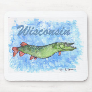 Wisconsin Muskie Mouse Pad