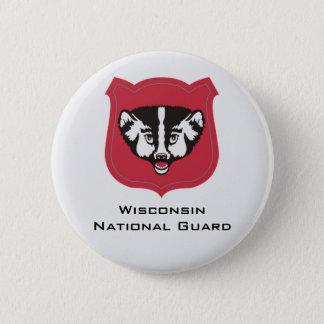 Wisconsin National Guard Insignia - Customized Button