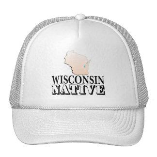 Wisconsin Native Hats