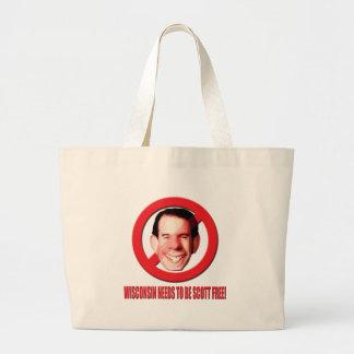 ¡Wisconsin necesita ser Scott libre! Bolsas De Mano