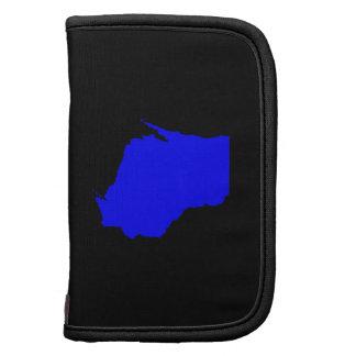 Wisconsin negro y azul planificadores