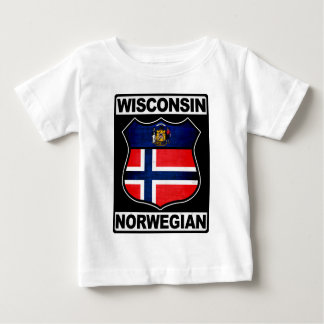 Wisconsin Norwegian American Baby T-Shirt