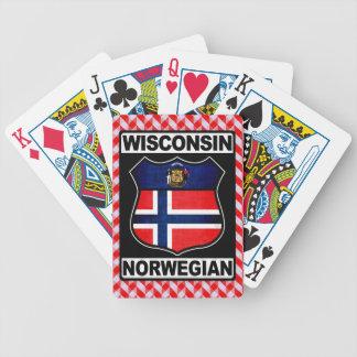 Wisconsin Norwegian American Card Deck