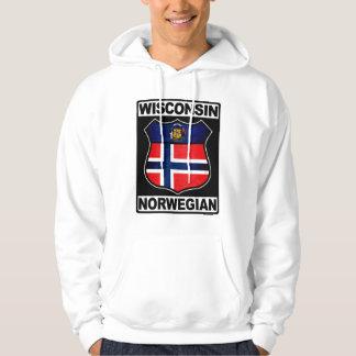 Wisconsin Norwegian American Hoodie