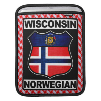 Wisconsin Norwegian American iPad Cover