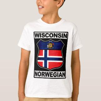 Wisconsin Norwegian American T-Shirt