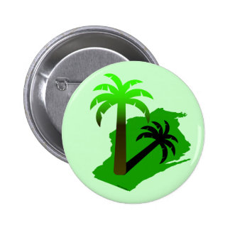 Wisconsin Palm Tree Button