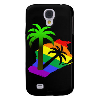 Wisconsin Palm Tree Galaxy S4 Cover