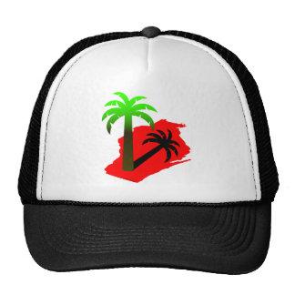 Wisconsin Palm Tree Hats