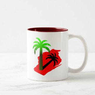 Wisconsin Palm Tree Mug