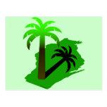 Wisconsin Palm Tree Post Card