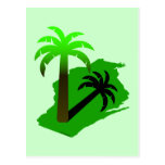 Wisconsin Palm Tree Post Cards