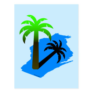 Wisconsin Palm Tree Postcard