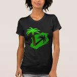 Wisconsin Palm Tree Tshirt