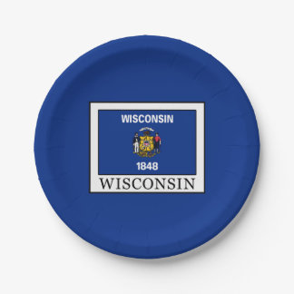 Wisconsin Paper Plate