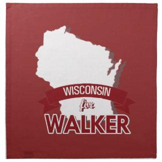 Wisconsin para el caminante - elección 2016 - servilleta de papel