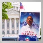 Wisconsin para Obama - modificado para requisitos  Poster