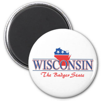 Wisconsin Patriotic Magnets