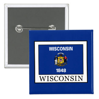 Wisconsin Pinback Button