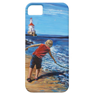 Wisconsin Point Beach, iPhone / iPad case