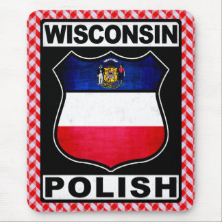 Wisconsin Polish American Mousemat Mouse Pad