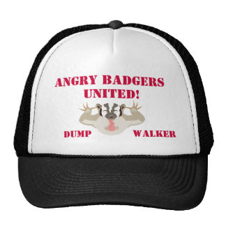 Wisconsin Politics_Angry Badgers United_DumpWalker Trucker Hat