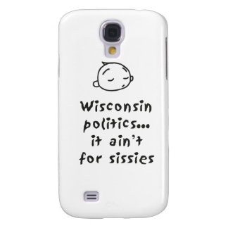 Wisconsin Politics Galaxy S4 Case