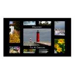 Wisconsin por todas las estaciones tarjeta de visita