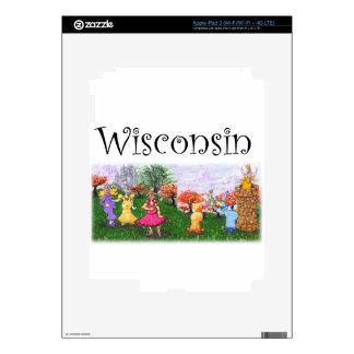 Wisconsin Princess Cows Skin For iPad 3