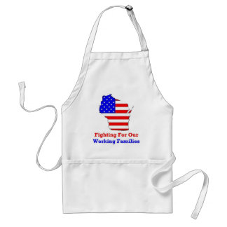 Wisconsin Protests Adult Apron
