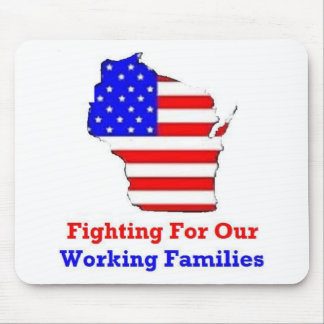 Wisconsin Protests Mouse Pad