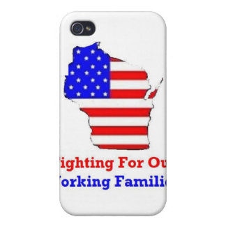 Wisconsin Protests Shirts iPhone 4/4S Cover