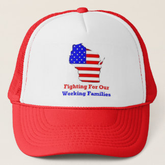 Wisconsin Protests Shirts Trucker Hat