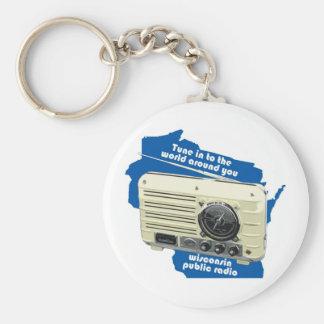 Wisconsin Public Radio Keychain