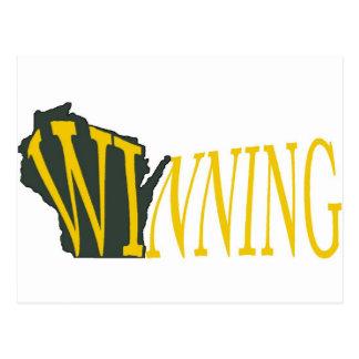 Wisconsin que gana tarjetas postales