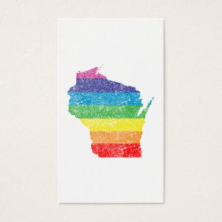 wisconsin rainbow business card