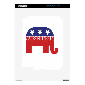 Wisconsin Republican Elephant Decal For The iPad 2