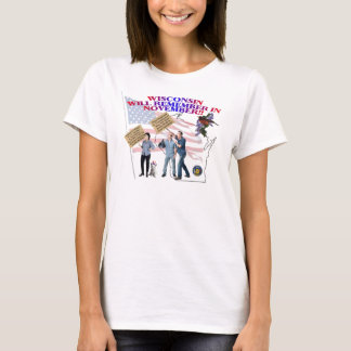 Wisconsin - Return Congress to the People! T-Shirt