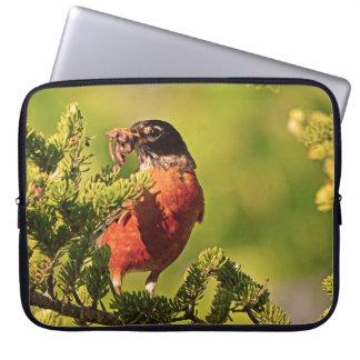 Wisconsin Robin Laptop Sleeve