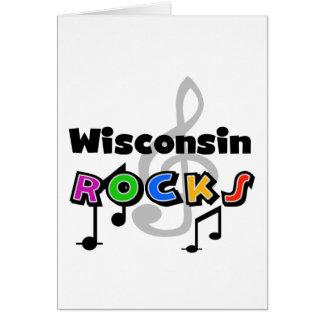 Wisconsin Rocks Card