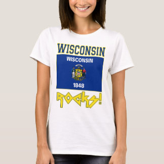 Wisconsin Rocks! T-Shirt
