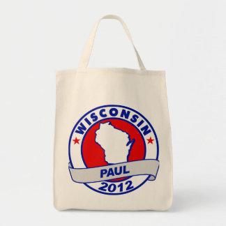 Wisconsin Ron Paul Tote Bag