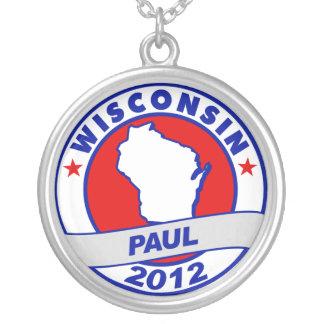 Wisconsin Ron Paul Custom Necklace