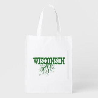 Wisconsin Roots Reusable Grocery Bag