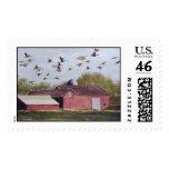 Wisconsin Sand Cranes- stamps